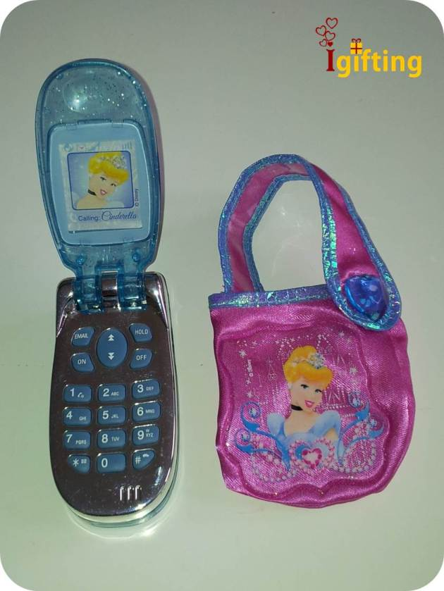 A toy mobile phone