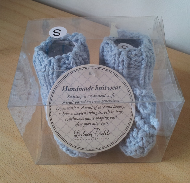 Wool baby socks