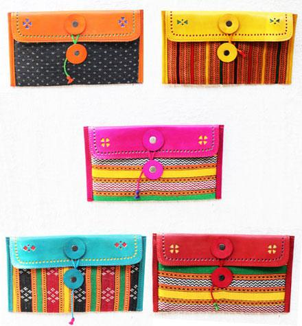 Indian handicraft purse