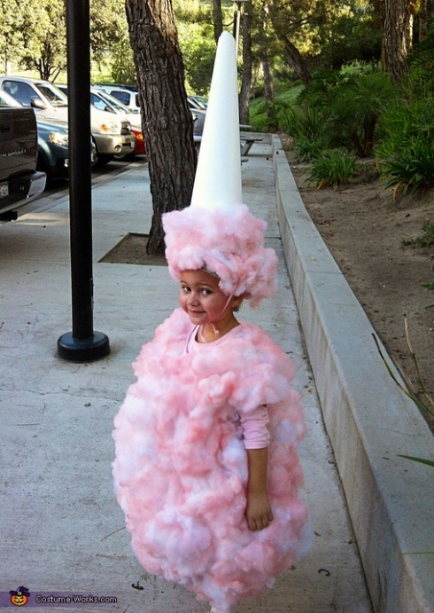 cotton candy costume for halloweenn