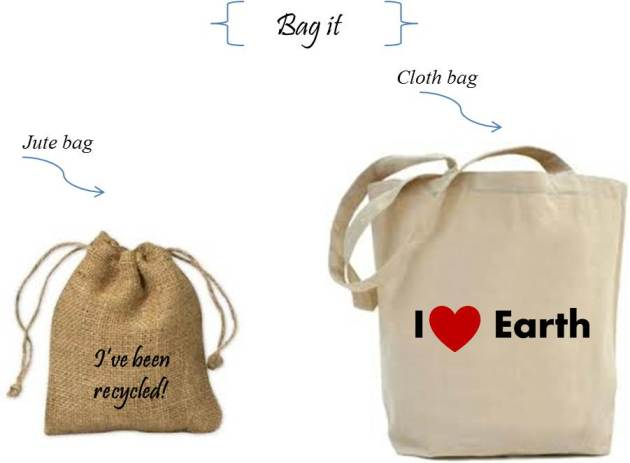 gift eco-friendly cloth and jute bags