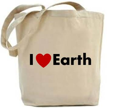 Gift a 'I Love Earth cloth' bag