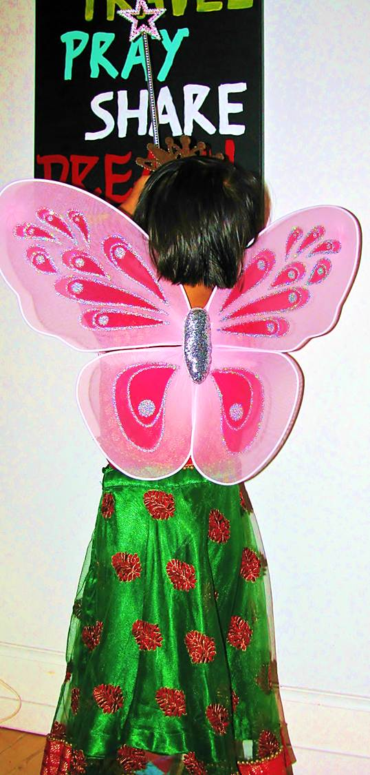 Gift a fairy costume