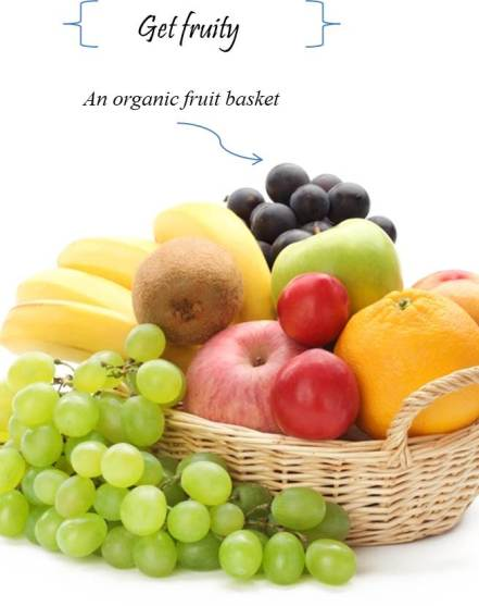 organic food is healthy and green