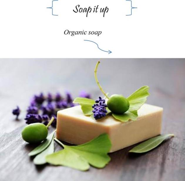 organic soap is chemical free gift