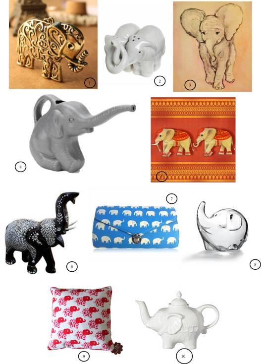 10 elephant gift ideas