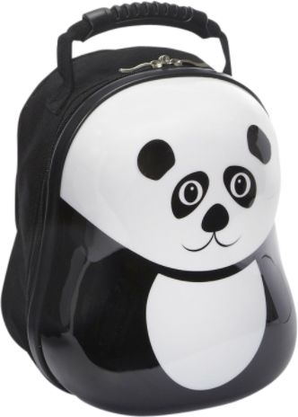 Gift a panda backpack to children