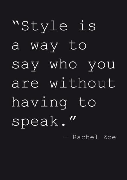 For fashionistas