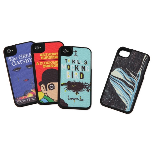 Literary art phone cases gift for book lovers