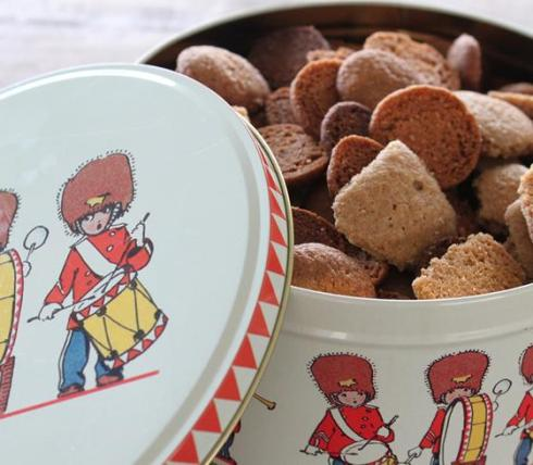 Danish Royal soldier tin is a fun Danish souvenir