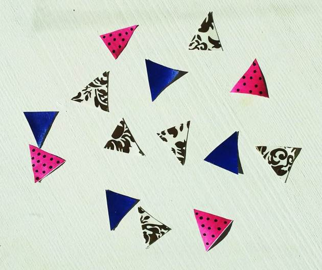 Bunting gift wrapping