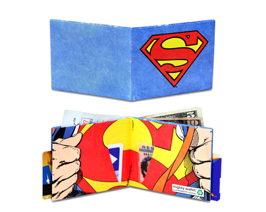 Gifts for him - Superman custom wallets by Dynomighty