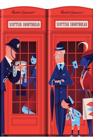 British Gift ideas - Classic British telephone booth