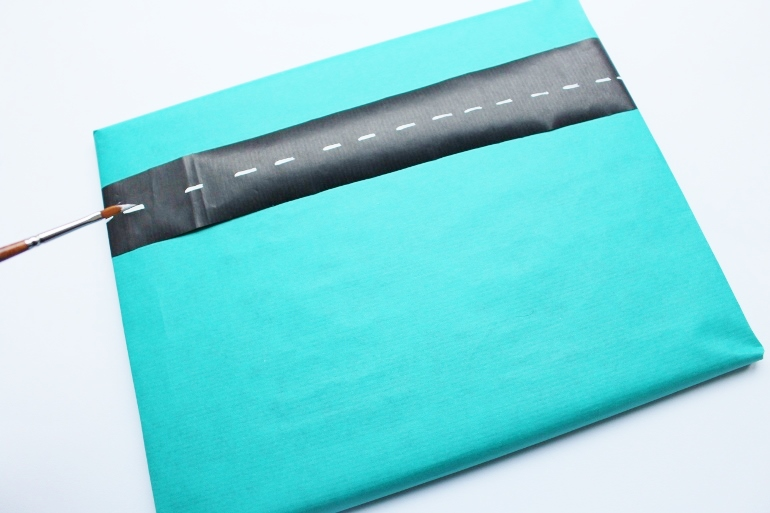 How to make a 3D gift wrap for kids